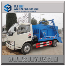 3t ~ 5t Dongfeng 4X2 Swing Arm Garbage Truck