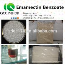 Agroquímico / insecticida de calidad superior Benzoato de emamectina 70% TC 5% WDG, WSG 2% EC CAS 155569-91-8