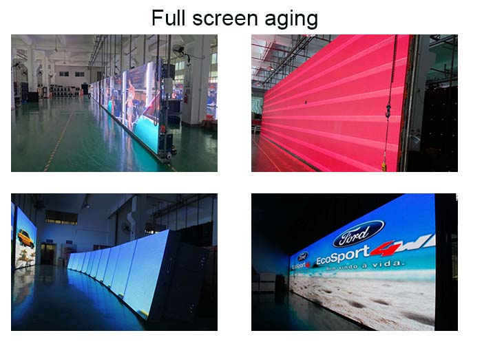 full color slim lightweight led screen