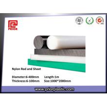 Alta qualidade CNC usinagem Rod plástico / barra de poliamida