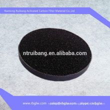 Activated carbon non-woven fabric odor absorbing material