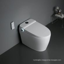 Sinking Water Tank Automatic Smart Toilet With Bidet