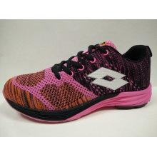 Zapatos de marca 5 colores de aire transpirable encaje hasta calzado de punto