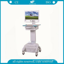 Movable luxurious workstation with computer hospital nursing clinical carts