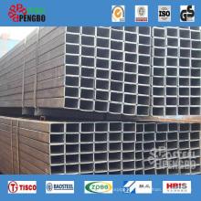 Construcción de tubería de acero cuadrada soldada