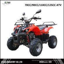 EPA Bauernhof ATV / Quad mit 110ccm Motor Reverse 7inch oder 8inch Reifen hinten Träger Bull Style Hot Verkauf