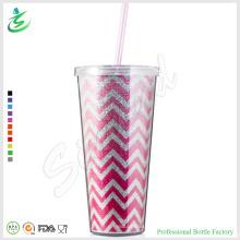 24oz Премиум блестящий пластиковый тумблер с блеском (TB-A1-5)