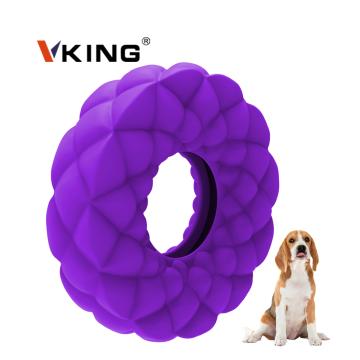 Zahnreinigungsring aus Naturkautschuk Kauspielzeug für Hunde