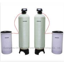 Промышленный Автоматический Умягчитель воды frp котел смолы фильтра системы Цена