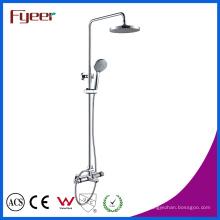 Grupo termostático do chuveiro do misturador sensível do torneira do banho da temperatura de Fyeer