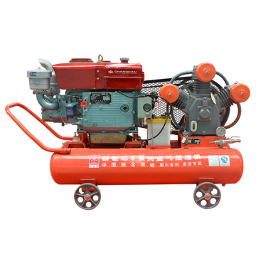 Compresseur d'air de piston minier diesel avec Changcai ZS115M