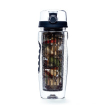 New Arrivals Hot Selling BPA Free Valentine's Day Gift Plastic Fruit Water Bottle