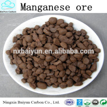 3-5 mm de manganeso con precio competitivo para el tratamiento del agua