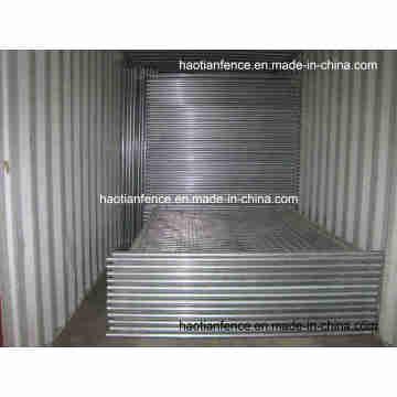 48mm Od. Heavy Duty Galvanized Temp Fencing Panels