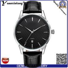 YXL-448 montre automatique montre-bracelet Date calendrier haute qualité imperméable à l'eau en acier inox étui luxe montres en gros