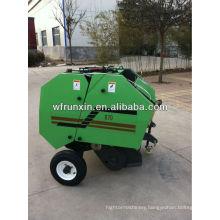Tractor powered wheat straw baler