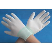 13g PU coated nylon working gloves made in china