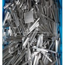 Barra de aluminio extruido para intercambiador de calor de barra de placa