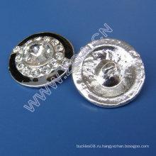 Кнопка одежды Rhinestone, кнопка шитья, кнопка украшения