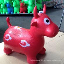Kinder Pferd Hopper, mit Free Foot Pump, Übung Springen Tier, Bouncy Horsey Ride-on Spielzeug, Fun Space Hopper für Core Stärkung