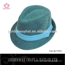 Winterhüte für Männer Männer blaue Fedora Hüte Acryl Hut
