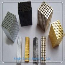 N35 Cylinder Shape Sintered NdFeB Magnet