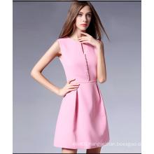 2016 New Design Women′s Ladies Sleeveless Fashion Polyester Dress