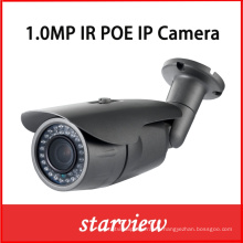 1.0MP Poe IR impermeable Bullet red CCTV cámara de seguridad IP (WH2)