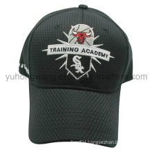 Mesh Baseball Cap, Snapback Sports Hat with Embroidery