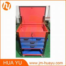 Garage Service Steel Roller Tool Trolley Cart Customize Color SPCC Material