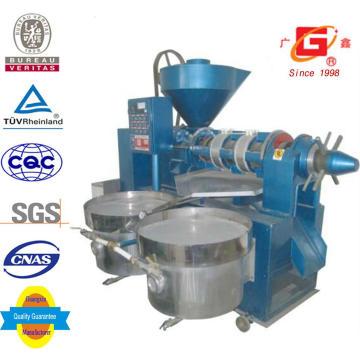 Expulsor de aceite de semilla de soja con la planta de prensa de aceite de filtro (YZYX130WZ)