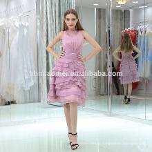 En gros alibaba designer à paliers violet couleur robe de soirée 2017