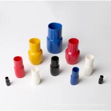 Connecetor terminal do tubo da isolação macia material do PVC com cor vermelha, aprovaçã0 do CE