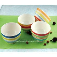 5.5′′round Ceramic Dinner Bowl