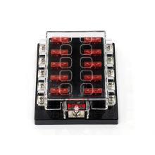 Portafusibles auto de la caja del fusible de la caja del estándar 10 de la manera / tenedor del fusible del coche / del camión