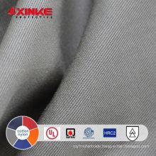 xinke supply 7oz cotton nylon firefighting uniform textile for welder jacket