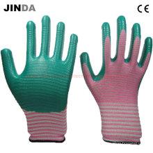 Рабочие перчатки с покрытием из нитрила с покрытием (U207)
