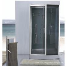 Cajas de ducha de bloque de vidrio y puertas correderas de ducha