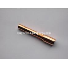 Suporte de ponta de contato de cobre da tocha Co2 / mig