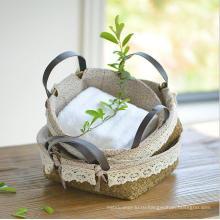 (BC-ST1079) Практичная чистая ручная корзина для соломы