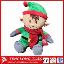 Juguetes de peluche lindo de alta cantidad juguetes de Navidad juguetes de peluche de bebé