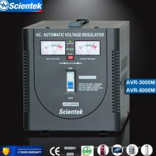 Entrée 130 à 260V Sortie 220V / 230V Appliquer au congélateur 3000va Régulateur de tension Régulateur de tension automatique AVR