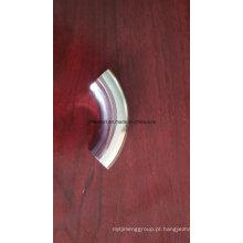 Tubo de aço inoxidável sanitário montagem Weld / Clamp ângulo de 90 graus