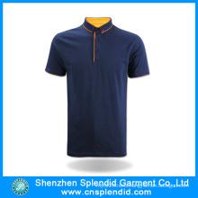 Shenzhen Dress Fashion Cotton Black Man Polo T-Shirt