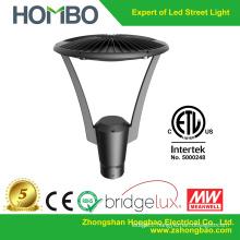 2015 alibaba hot sale modern led garden light aluminum post light etl