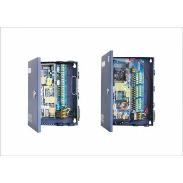 kotak cctv power supply 9 saluran 12vdc 10a