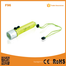 F96 Portable Xre Q5 Ipx8 Waterproof High Power Diving LED Flashlight