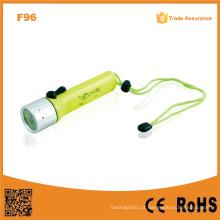 F96 portátil Xre Q5 Ipx8 impermeável alta potência mergulho lanterna LED