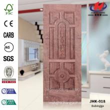 JHK-018 Beautiful Complex Popular Iran Project Veneer N-Bubingga Wood Door Material