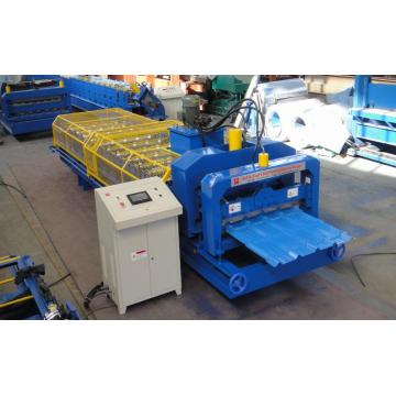 Teja esmaltada Color Steel Roof Panel Making Machine